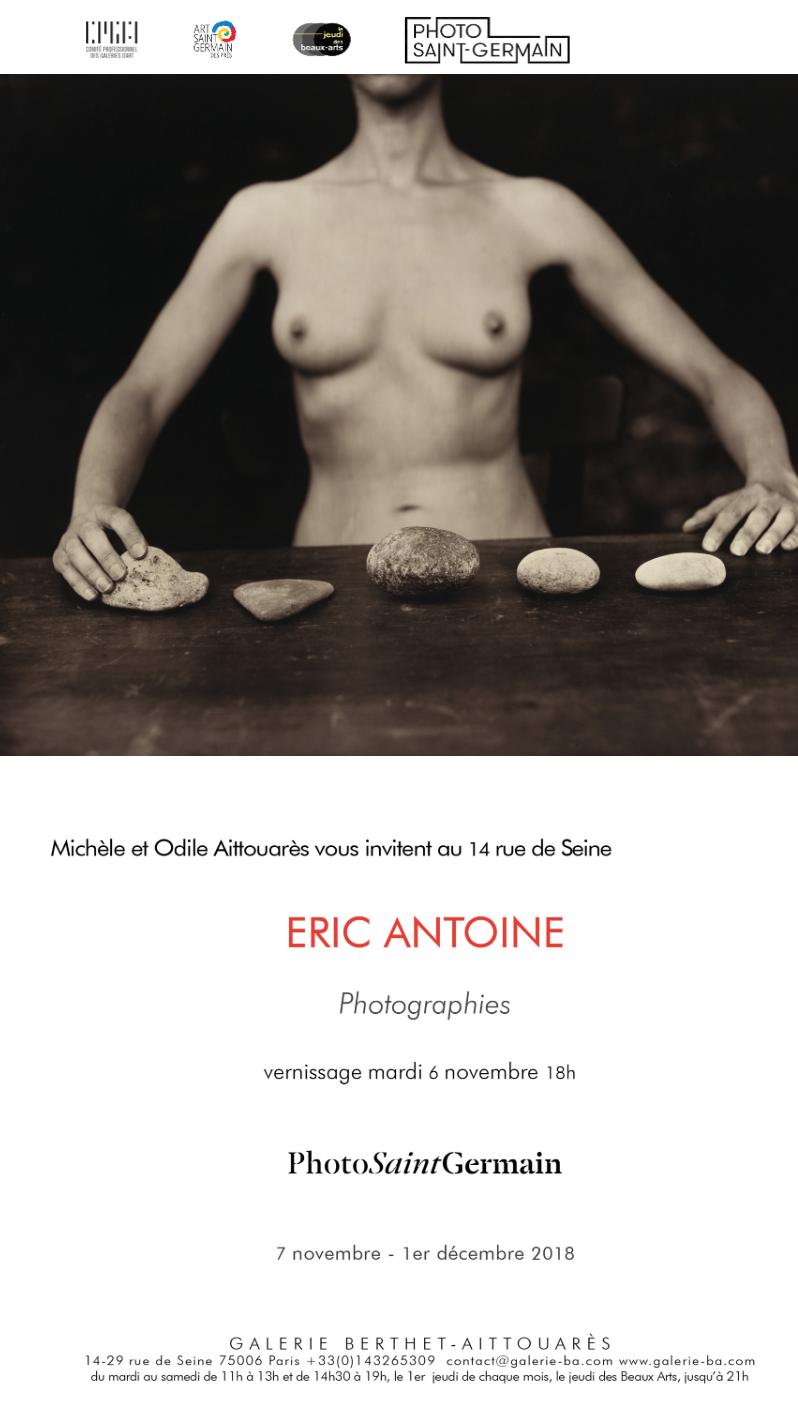 Eric Antoine Exposition personnelle Paris